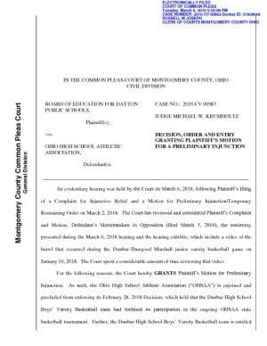 thumbnail of Dunbar decision