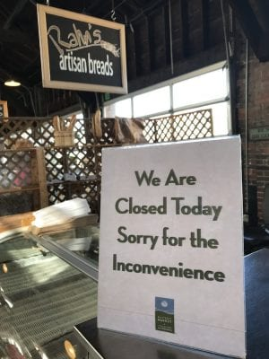 Rahn's Artisan Breads closed by the health department