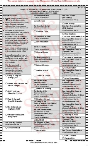 thumbnail of Sample ballot 1-D