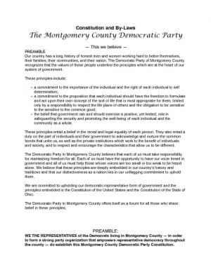 thumbnail of MCDP Constitution Revised