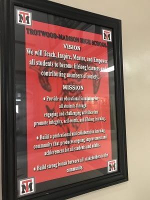 Trotwood Madison School mission statement