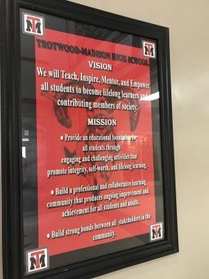 Trotwood Madison School mission statement