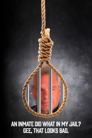 Phil Plummer behind bars in Jail
