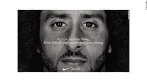 Colin Kaepernick Nike ad, sacrifice
