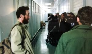 CBS Seal Team ambushes the VANo, you don't see veterans lined up in the hall at a VA.