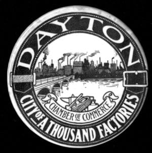 Chamber of Commerce Dayton Seal- City of a thousand factories