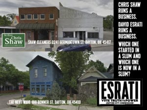 Top- Shaw Cleaners, Bottom The Next Wave, Chris Shaw, v David Esrati- any questions?
