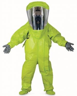 Haz mat suit DuPont Tychem 10000 Level A Suit