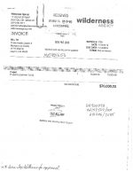 thumbnail of Record of Payments to the Wilderness Agency