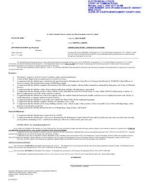 thumbnail of Jennifer Selhorst Community Control order